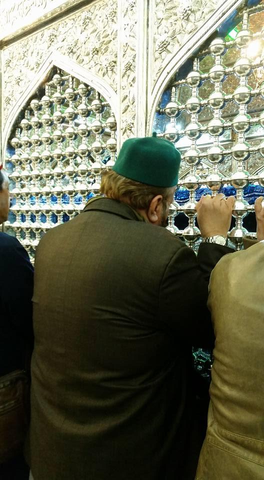 Mazar Shareef of Sarkaar e Ghaus e A'azam [Rahmatul Laah Alaieh] night of Giyaarahween Sharee