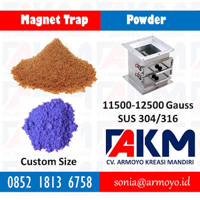 magnet trap powder