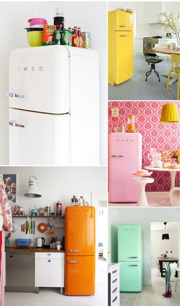 cool frigo smeg rouge with frigo smeg rouge. Black Bedroom Furniture Sets. Home Design Ideas