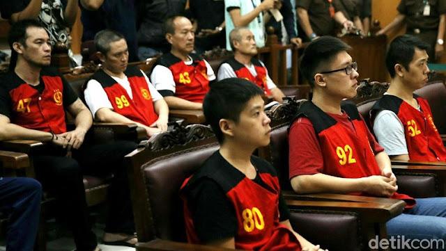 8 Penyelundup 1 Ton Sabu Via Pantai Anyer Dituntut Hukuman Mati