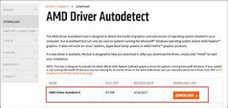 AMD Auto Driver Detect Tool 100% Free Download
