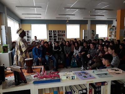 Contacontos en francés: Un voyage en Afrique