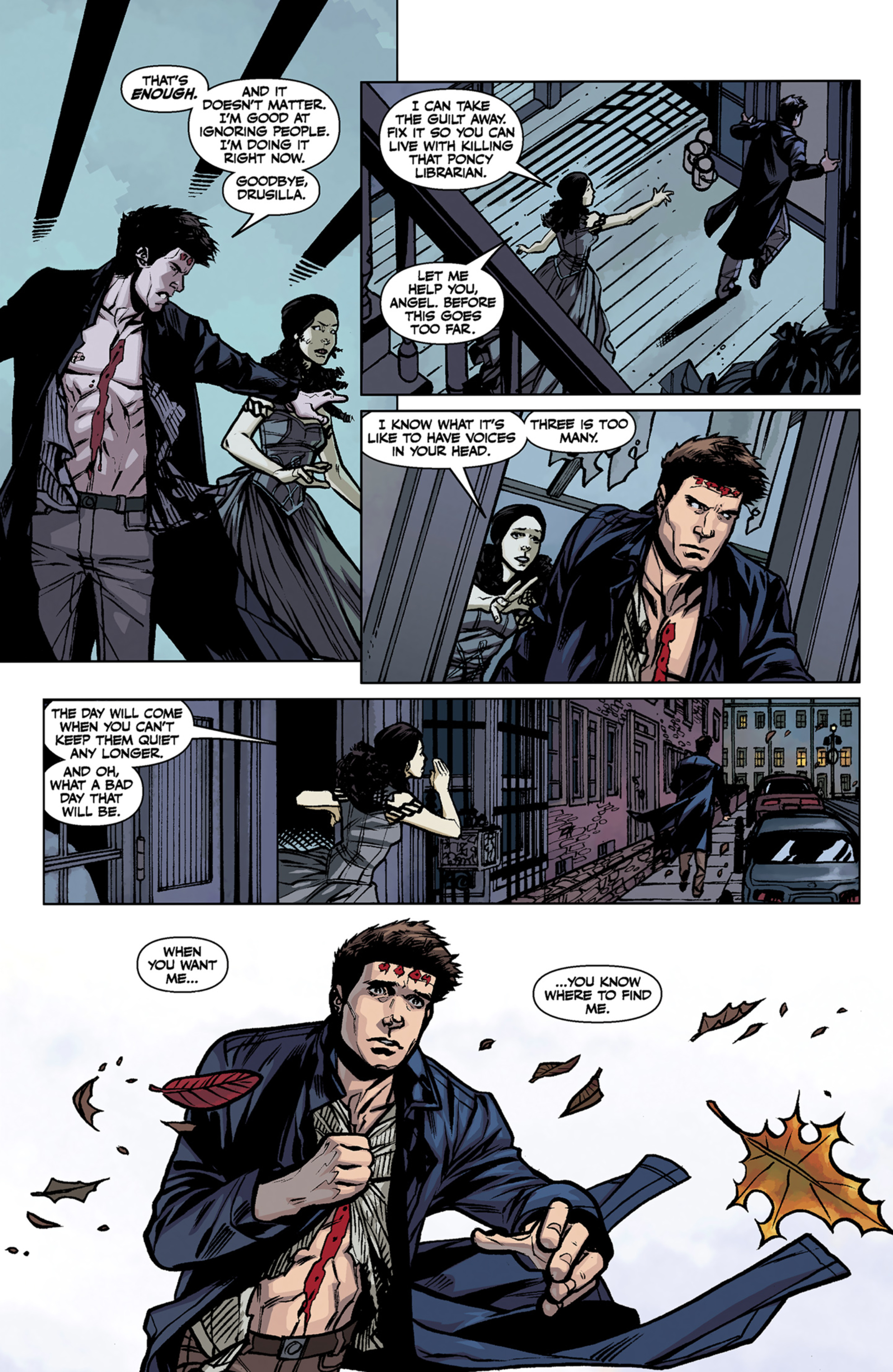 Read online Angel and Faith comic -  Issue #7 - 21