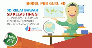 Modul PKB Guru SD Kelas Awal dan Tinggi Kompetensi KK-A s.d KK-J dejarfa.com
