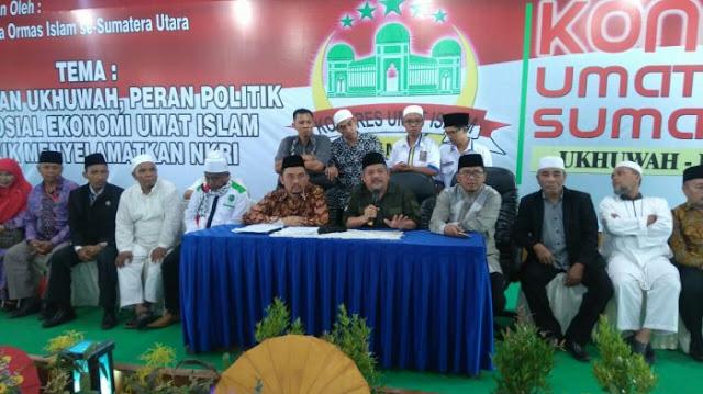 Hasil Kongres Umat Islam Sumut: Untuk Pilkada Dukung Paslon Sesama Muslim & Pilpres Dukung. . . !