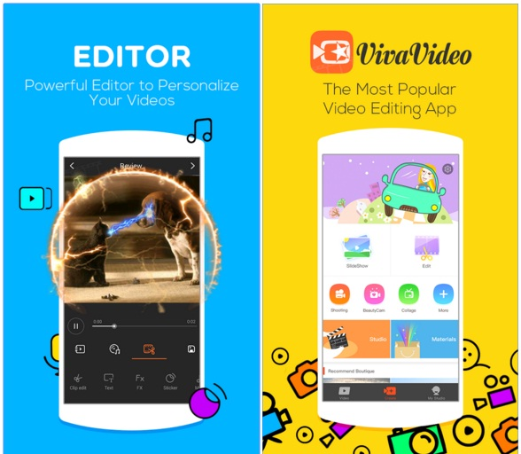 Download aplikasi android - VivaVideo 4.6.3 APK for Android