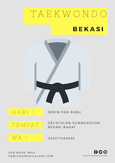 taekwondo bekasi