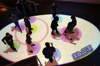 Interactive Floor Projection, Interactive Floor Projector