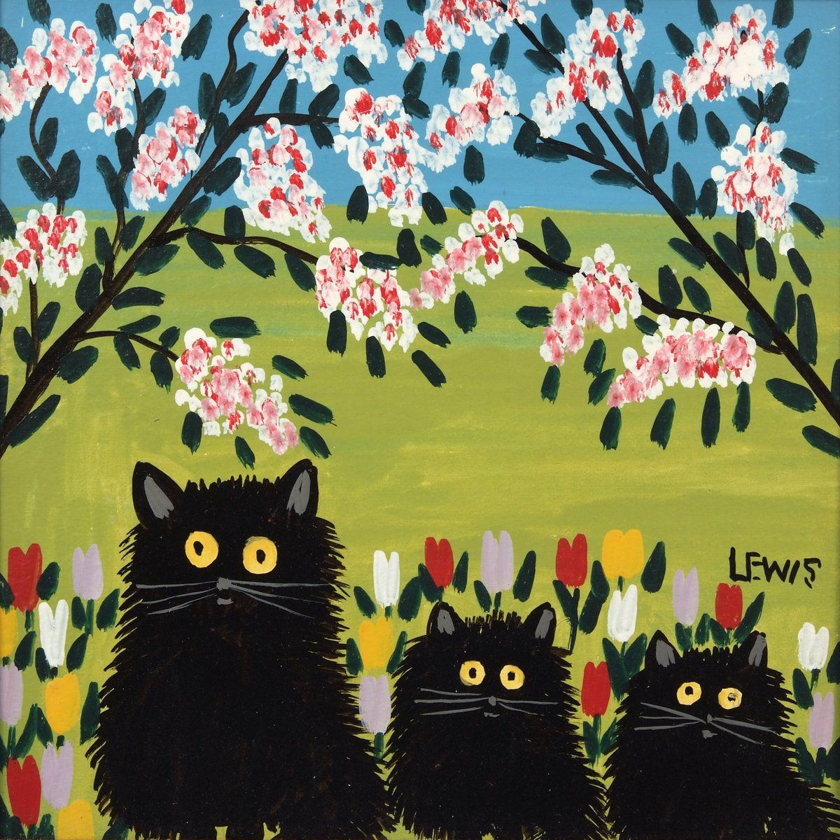 Maud Lewis ~ Arte folclórica