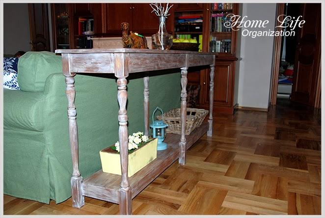 Консольный стол своими руками. DIY Console table