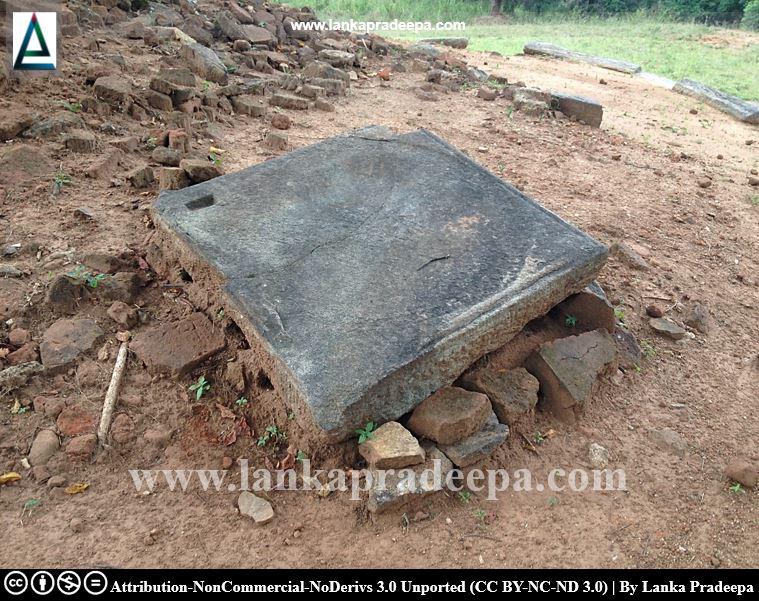 A stone artifact, Keheliya Viharaya