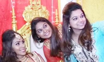 Malaysian Indian Wedding Reception Of Tinesh & Kasturi