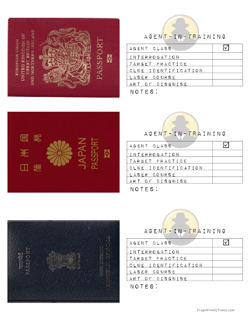 printable spy passport