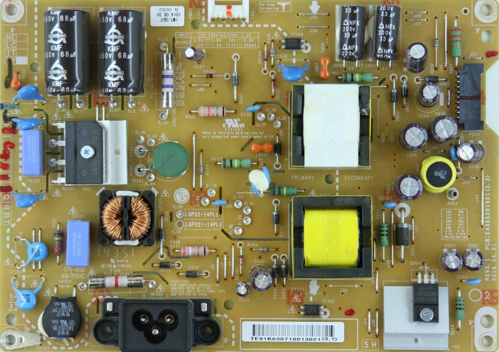 Master Electronics Repair Repair Servicing Tv Lg 32lb652v
