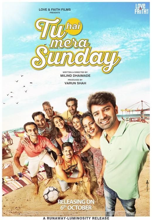 Tu Hai Mera Sunday (2016) Hindi 350MB WEB-DL 480p