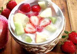 resep sop buah segar