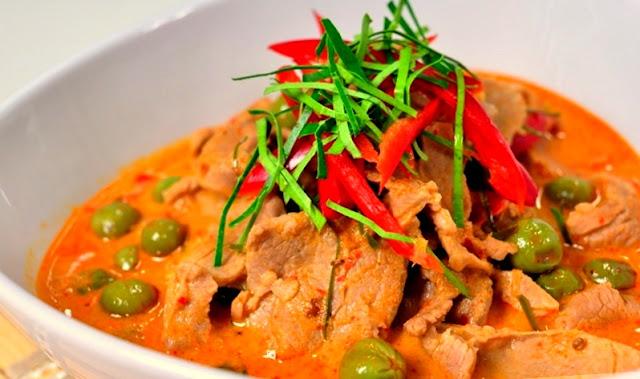 สูตรอาหารไทย : พะแนงเนื้อ [ BEEF PANAENG ] - Cracker Fun9