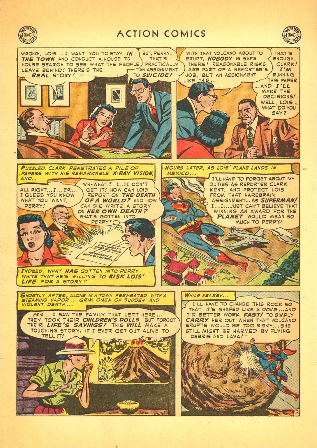 Read online Action Comics (1938) comic -  Issue #166 - 4