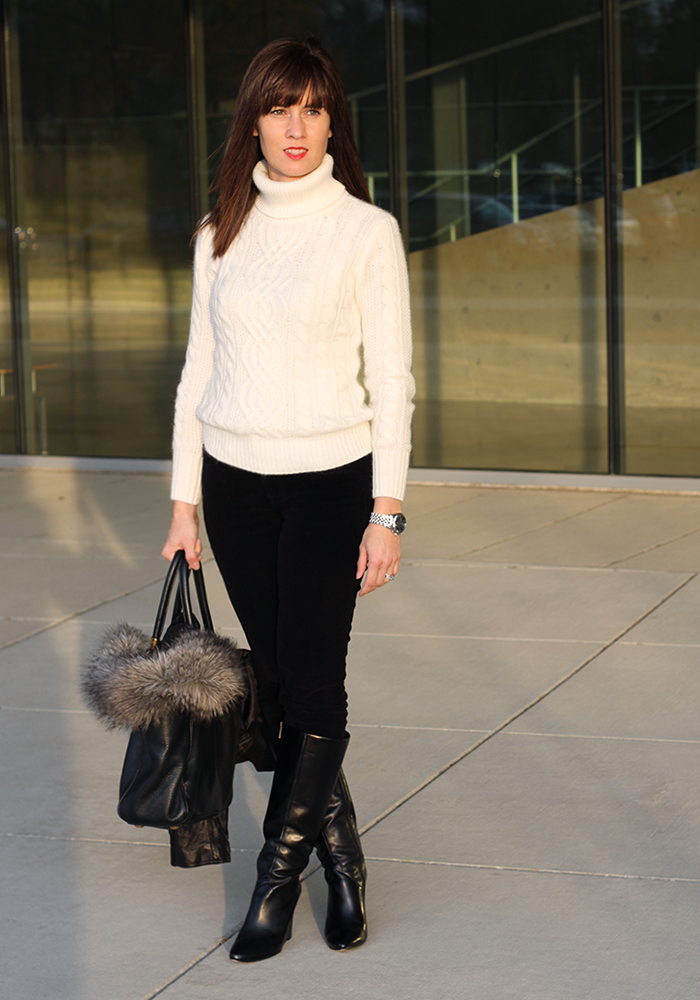 comfy sweater, cableknit sweater, winter look, nordstrom