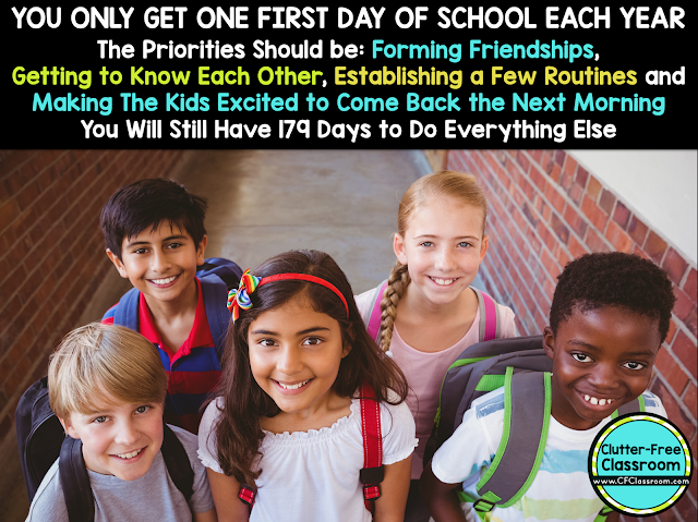 Do you need to make first day of school plans? This detailed post explains how an experienced teacher started each year in her classroom. It includes activities, management tips, icebreakers and printables.