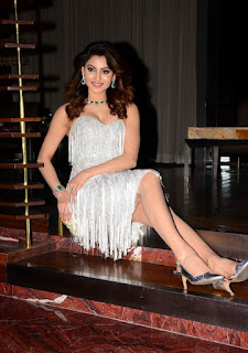 Urvashi Rautela Legs Show While Sitting On Floor