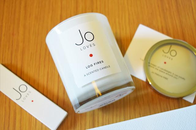 Jo Loves Log Fires Candle