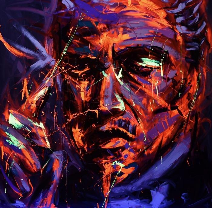 Греческий художник. Vassilios Antonakos