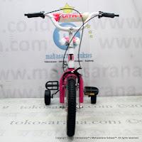 Sepeda Anak Vita Classic 12 Inci Pink