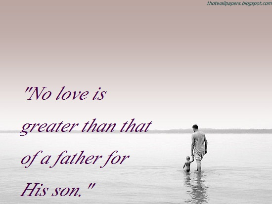 best quotes on father and son relationship