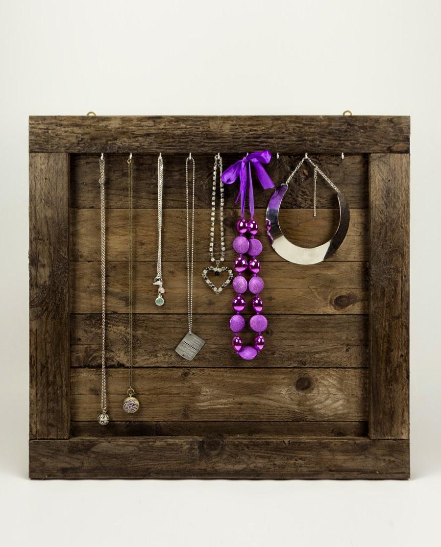 Ganci Per Appendere Collane creazioni & passioni: porta collane in legno anticato