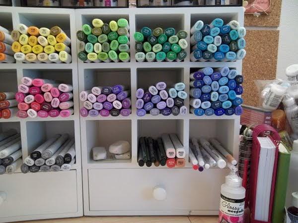 Color Me Copic More Copic Storage