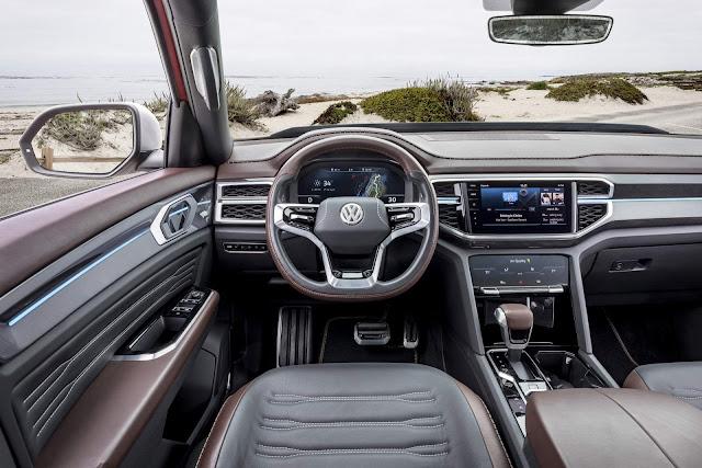 Volkswagen Tanoak - picape - interior