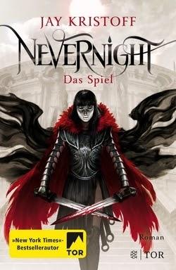 Bücherblog. Rezension. Buchcover. Nevernight - Das Spiel (Band 2) von Jay Kristoff. Fantasy.