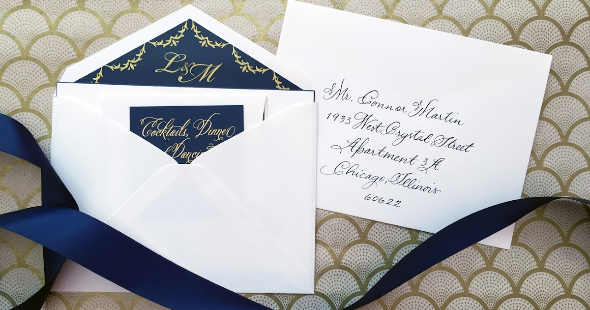 What Are Inner Envelopes For Wedding Invitations: Nico And LaLa: Wedding Invitation Etiquette: Inner And