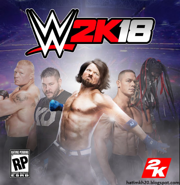 WWE 2k18 PC Game Highly Compressed