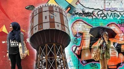 spot foto grafiti di medan, tempat grafiti di medan