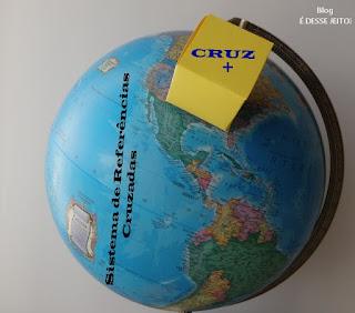 Imagem do globo terrestre representando a necessidade que o mundo têm de aprender do Amor de CRISTO (Anúncio de Abertura do Sistema de Referências Cruzadas/ CRUZ+)