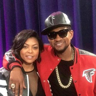 Taraji P. Henson Super Bowl 2017 Usher