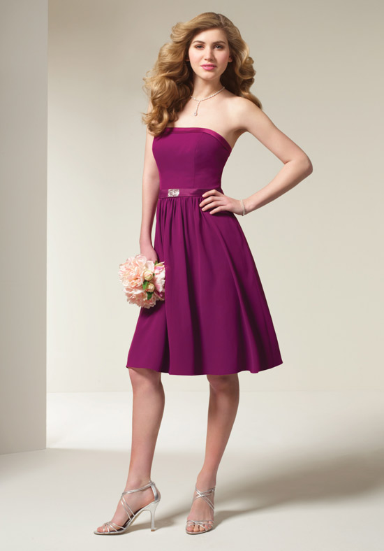 muhlisah Purple Bridesmaid Sort And Long Dress Models