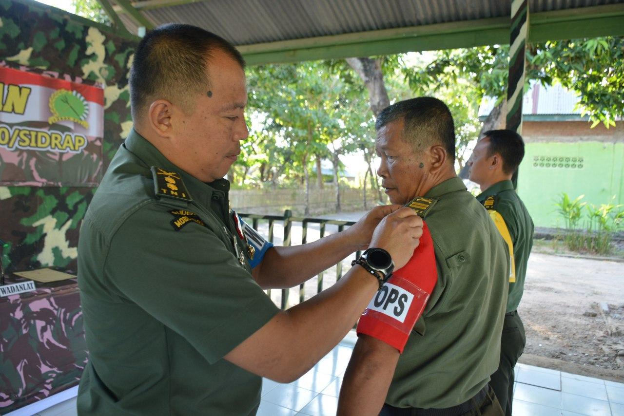 Begini Upaya Danrem 141/Tp Tingkatkan Kemampuan Komandan dan Staf Dalam Satuan Jajarannya
