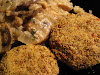 Black-Eyed Pea and Quinoa Croquettes with a Creamy Mushroom Sauce