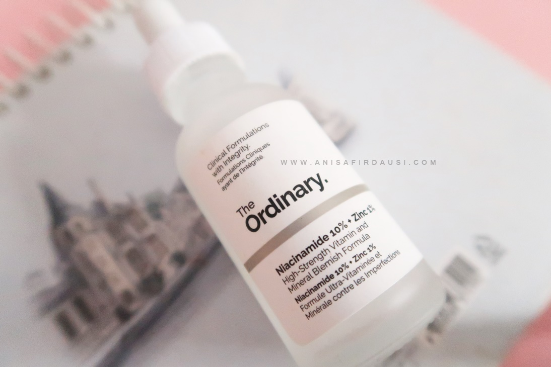 Review The Ordinary Niacinamide 10 Zinc 1 Serum Untuk Kulit Acne Prone The A Word