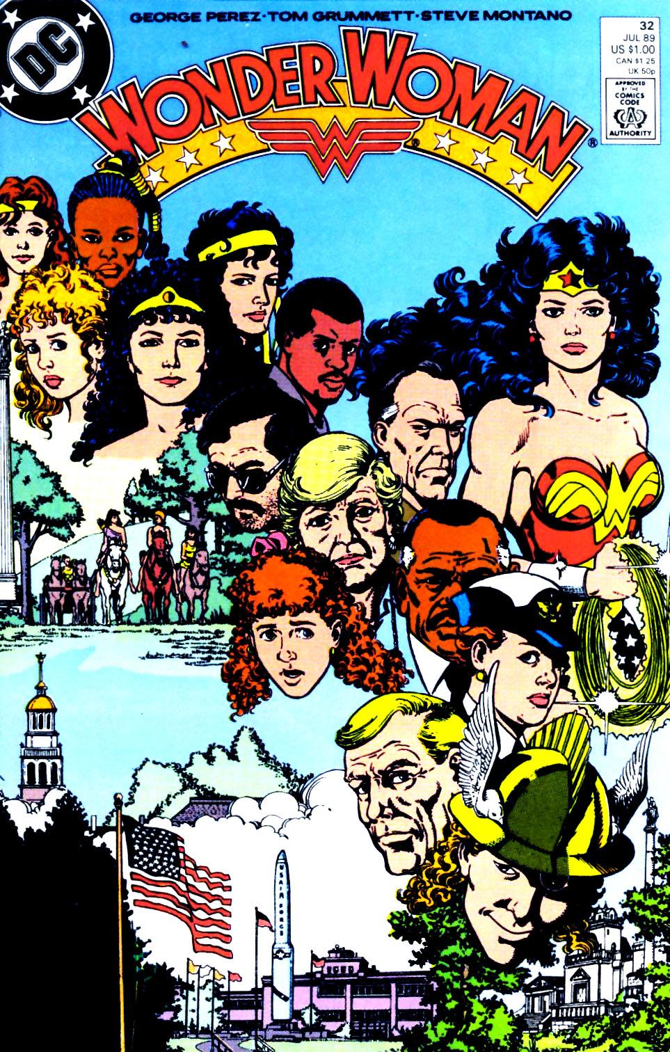 Read online Wonder Woman (1987) comic -  Issue #32 - 1