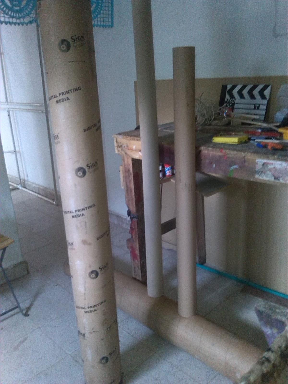 Rastaxico Arte E Ingenio Trabajos Personalizados Julio 2016 # Muebles De Tubos De Carton
