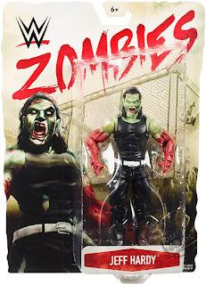 Mattel WWE Zombies Action Figures Series 3 Jeff Hardy 01