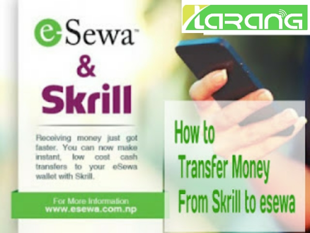 How to Transfer Money From Skrill to esewa