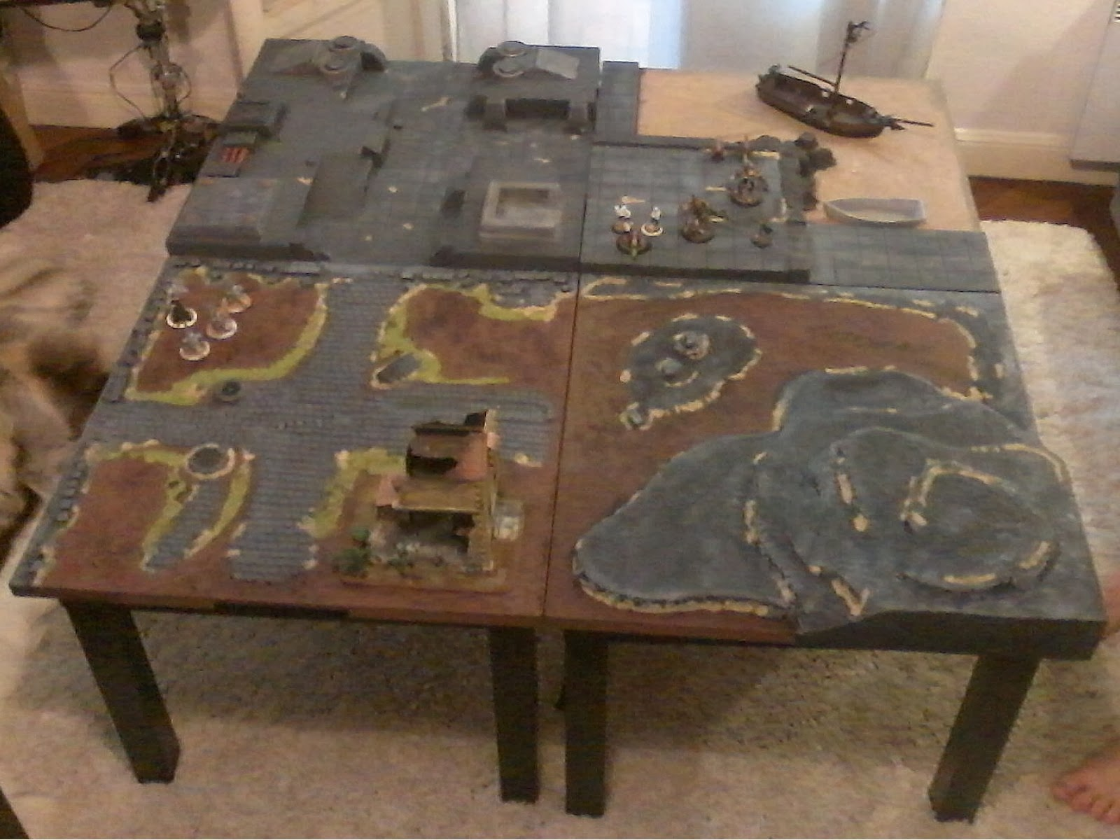 Gws games of war studio by jck octobre 2013 - Table modulable ikea ...