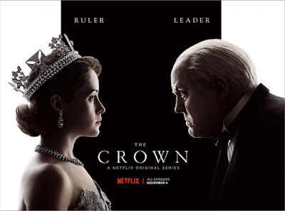The Crown Netflix Banner Poster 3