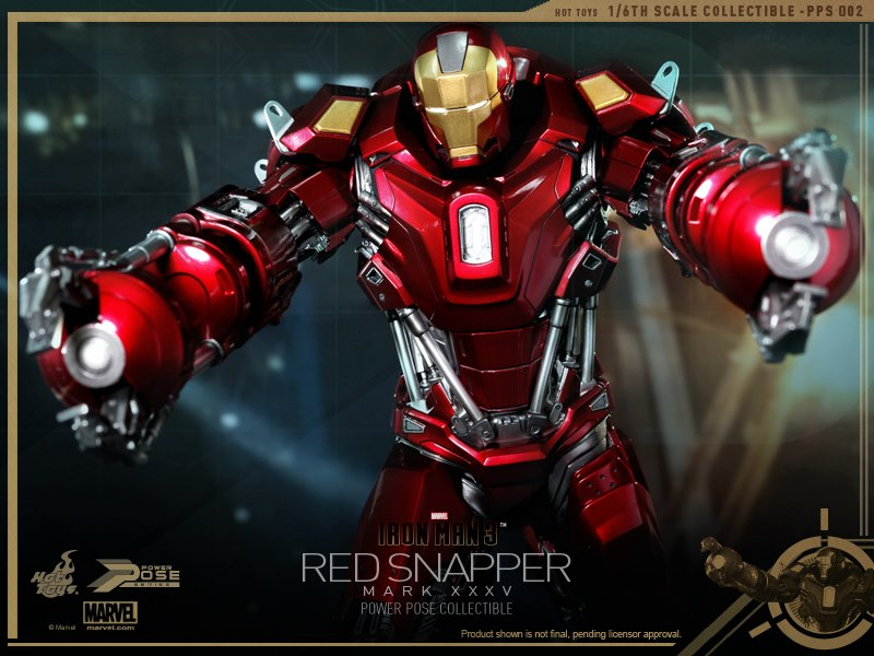 Fruitless Pursuits Pre Order Hot Toys Iron Man Mark Xxxv Red Snapper