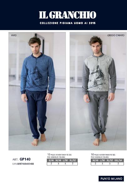 bielizna_męska_włoska_piżama_enrico_coveri_rzymskie_zakupy